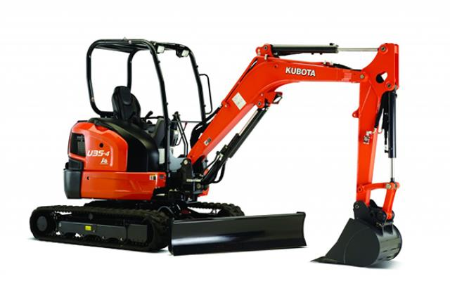 Where to find EXCAVATOR, KUBOTA U35 KX040 OPEN in Davis