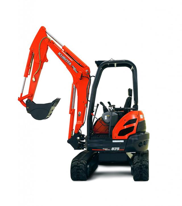 Where to find EXCAVATOR, KUBOTA U25 OPEN in Davis
