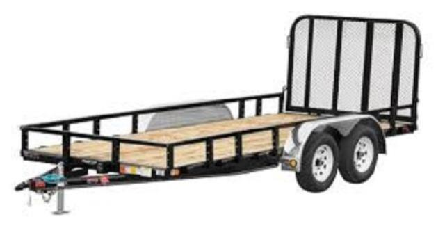 Where to find TRAILER, 14  FOLD UP GATE in Davis