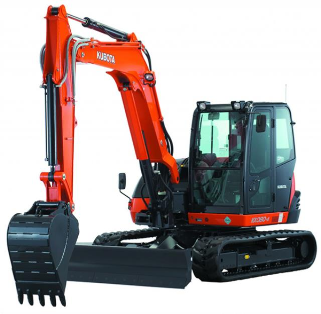 Where to find EXCAVATOR, KX080 CAB in Davis