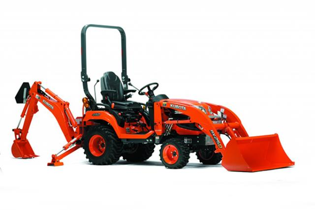 Where to find BACKHOE, KUBOTA BX23 in Davis