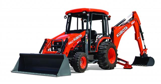 Where to find BACKHOE, KUBOTA M62 in Davis