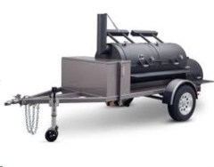Rental store for SMOKER TRAILER, 24  DOUBLE DOOR NO S N in Davis OK
